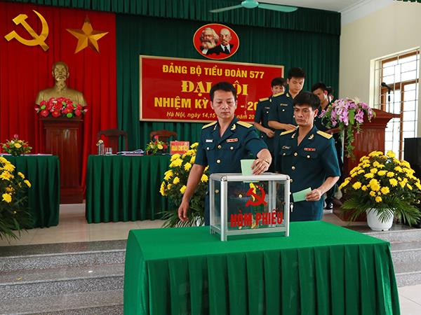 dang-bo-tieu-doan-van-tai-577-to-chuc-dai-hoi-nhiem-ky-2020-2025